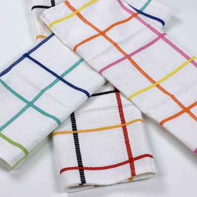 Nice Folded Kitchen Towels. Switch Display